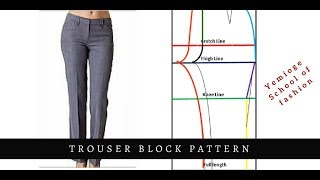 Drafting The Female Trouser Pattern