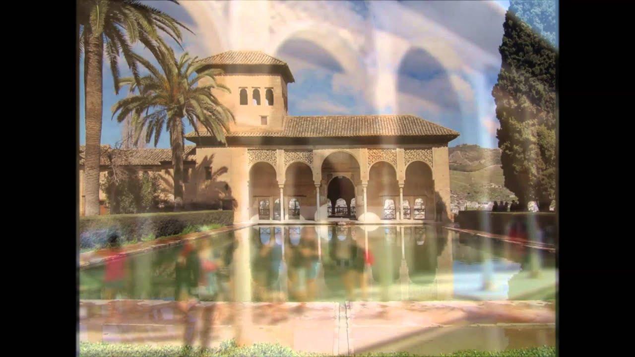 El partal palacio y jardines alhambra de granada youtube for Jardines de gomerez granada