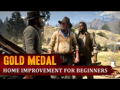 Red Dead Redemption 2 - Mission #98 - Home Improvement for Beginners [Gold Medal]