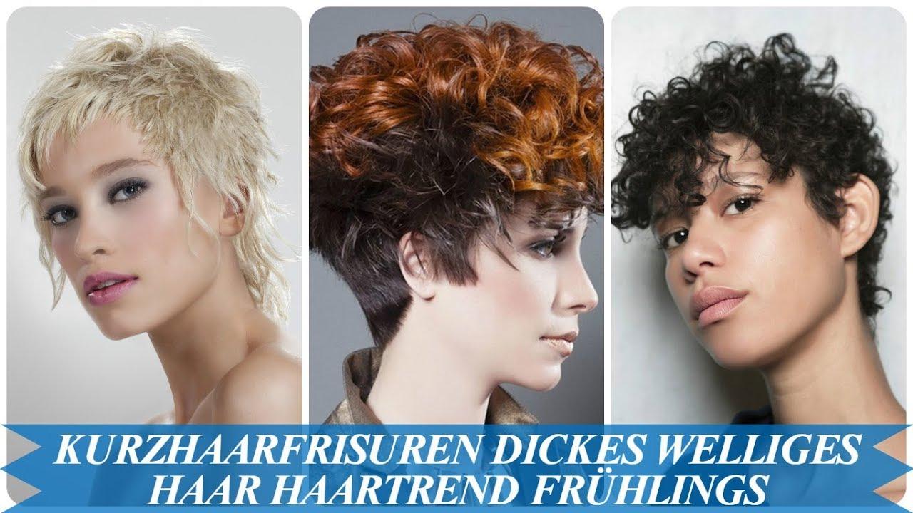 Die Besten 20 Ideen Zu Kurzhaarfrisuren Dickes Welliges Haar Haartrend Fruhlings 2018