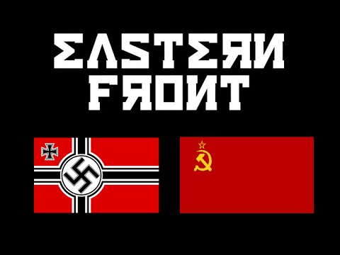 Animated map of the Eastern Front (World War II)