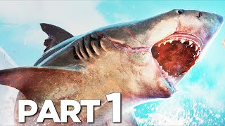 MANEATER Walkthrough Gameplay Part 1 - INTRO (FULL GAME)