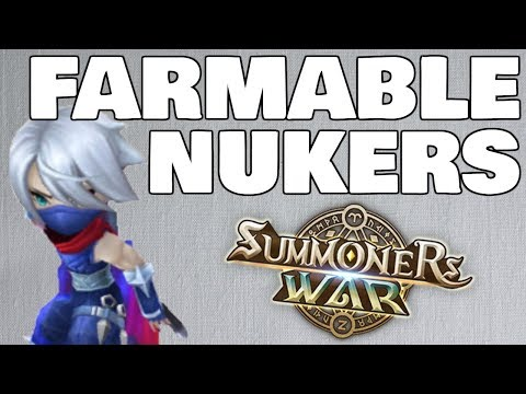 FARMABLE NUKERS In RTA?! - Nat 3 and Nat 4 Damage Dealers - Summoners War RTA