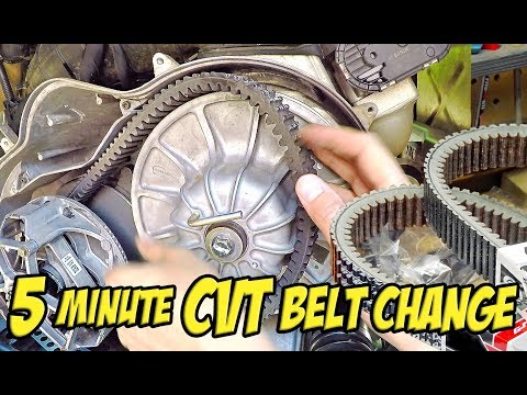 How to Replace a CVT Drive Belt in Under 5 Minutes - Polaris RZR XP Turbo - SXS/UTV/ATV