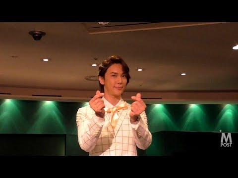 【動画】パク・ジョンミン(SS501)除隊後初の復帰記念コンサート記者会見!流暢な日本語は相変わらず! http://mpost.tv/?p=41119.
