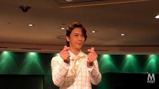 【動画】パク・ジョンミン(SS501)除隊後初の復帰記念コンサート記者会...