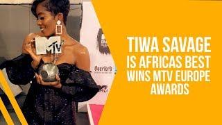 TIWA SAVAGE BAGS HER FIRST EMA AWARD