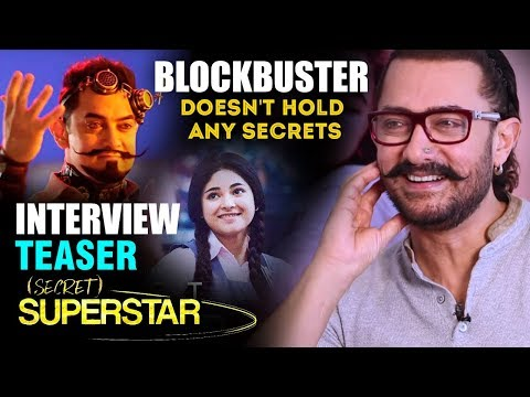 Aamir Khan Doesn't Hold Any Secrets In This BLOCKBUSTER Interview Teaser | Secret Superstar