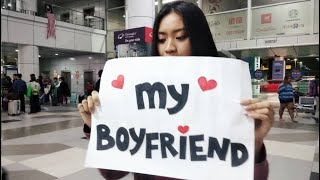 Meeting My Long Distance Boyfriend For The First Time (malaysia Usa)