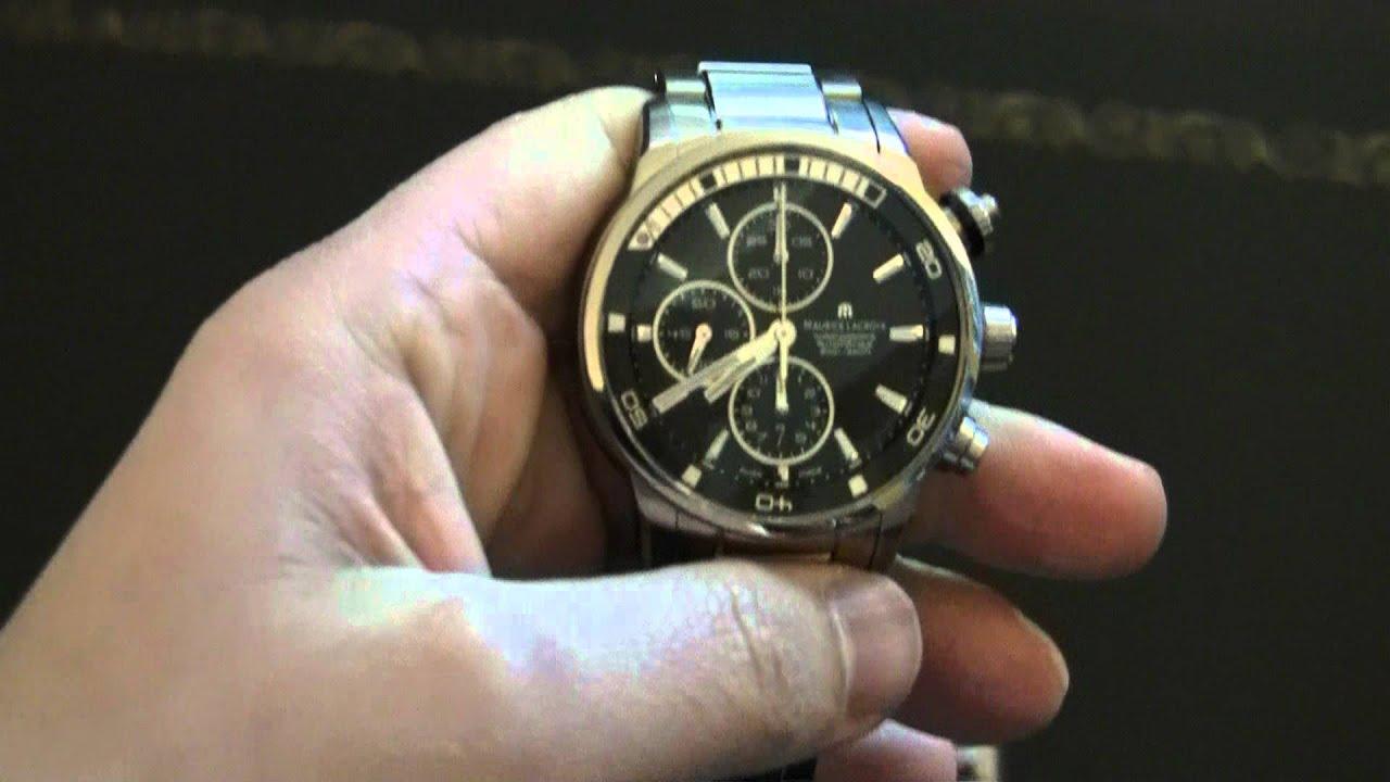Maurice Lacroix Pontos S Diver Watch