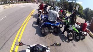 Labor Day Ride. Wheels Up Guns Down. Carolina Bike Life