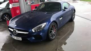 Jak jeździ Mercedes AMG GTS