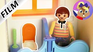 Playmobil film česky - Maik zapomenut na záchodě – Vtipná story Playmobil!