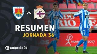 Resumen de CD Numancia vs RC Deportivo (1-2)