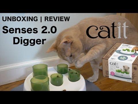 Catit Senses 2.0 Digger | UNBOXING | Review