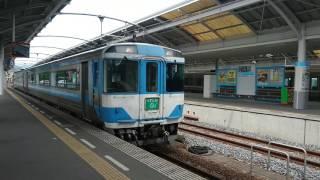キハ185系特急うずしお8号(2B剣山色)3008D  高松駅到着No.3