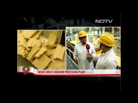 India is Uranium Rich Country - Inside India's Uranium Processing Plant.