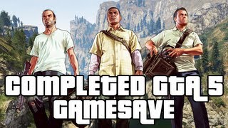GTA 5 - Completed GTA 5 Game Save Download - $2 BILLION, ALL GUNS, Everything UNLOCKED