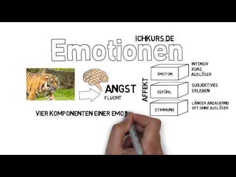 Und gefühle emotionen sind was Liste der