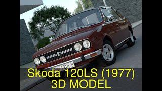 3D Model of Skoda 120LS (1977) Review