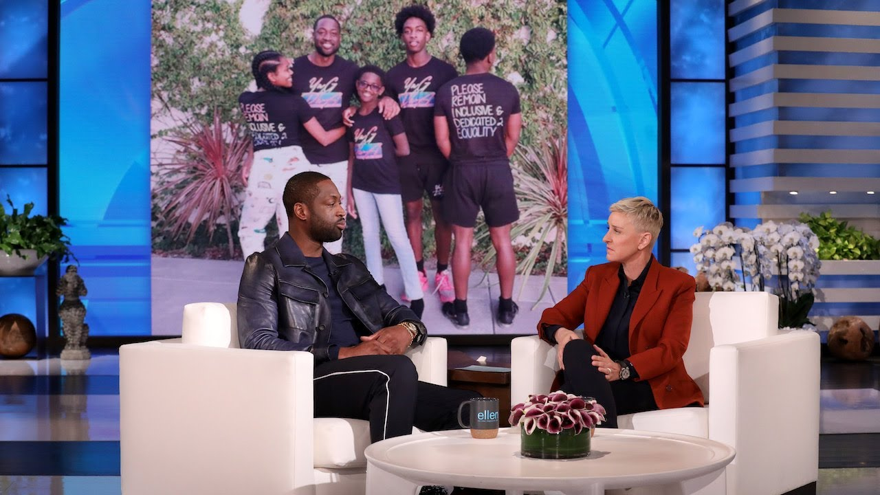 Ellen with Wade/Dwyane Wade/Dwyane Wade's Supports Trans Daughter Amidst Trolling