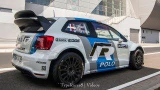 VW POLO R WRC LOUD ACCELERATION ON PUBLIC ROAD! w/ BACKFIRE! 1080p HD!