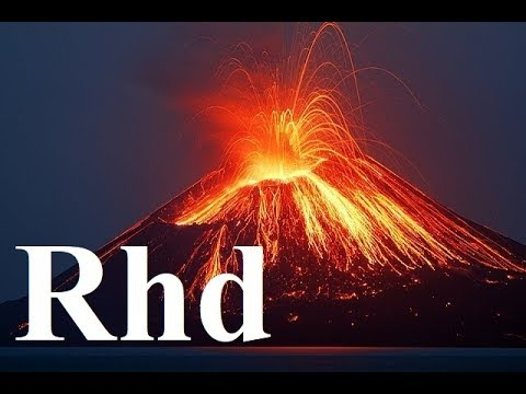 Ring of Fire,  volcano eruption,  Nature 2018 HD  Documentary