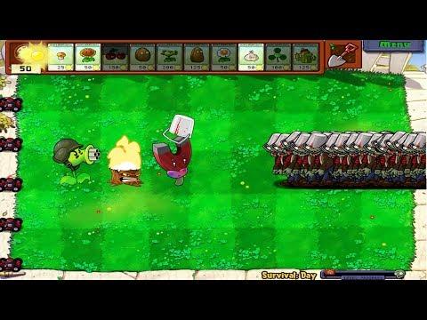 9999 Buckethead Zombies vs Gatling Pea Hack Plants vs Zombies