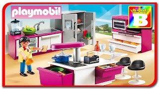 Playmobil 5582 - City Life.  Design modern a Bucatariei review.   Bogdan`s Show