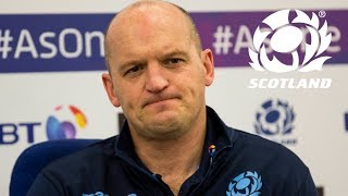 Gregor Townsend | Ireland Team Announcement