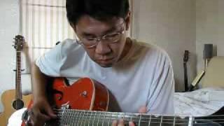 Cherry Pink And Apple Blossom White (Perez Prado), Guitar Solo by Sontaya