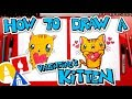 How To Draw The Cutest Valentine's Day Kitten Ever