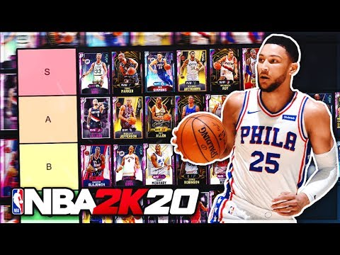 RANKING THE BEST PLAYERS IN NBA 2K20 MyTEAM!! (TIER LIST)