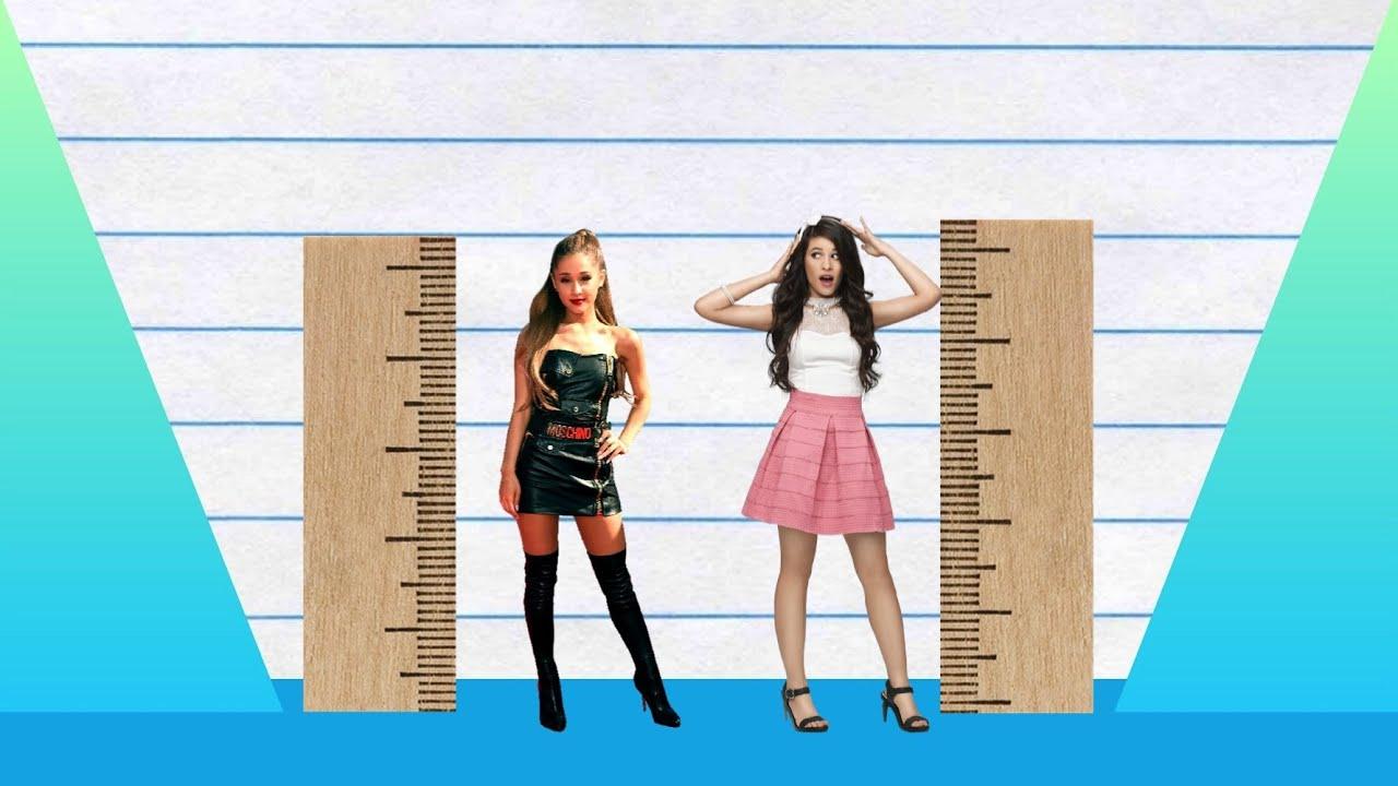 How Much Taller? - Ariana Grande vs Camila Cabello! - YouTube