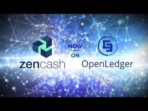 ZenCash Is Now Traded On OpenLedger!