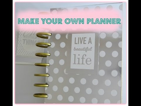 DIY:How to:Tutorial:Make your own planner!! by SaCrafters