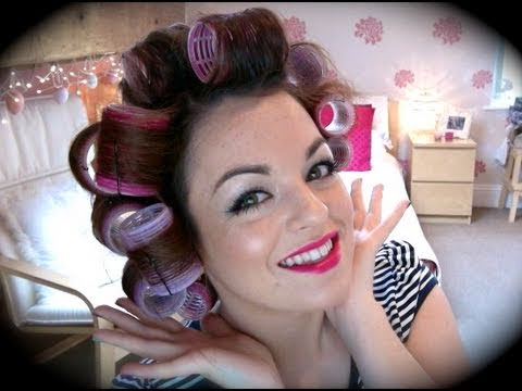 How To Use Velcro Rollers : SWalkerMakeup
