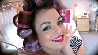 One of Sara Michelle's most viewed videos: How To Use Velcro Rollers : SWalkerMakeup