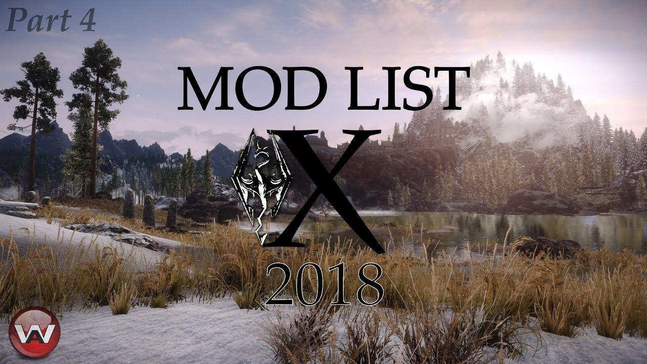 BEST SKYRIM SE Graphics 2018 !!!   ModList X   Part 4 - Hjaalmarch +  Solitude