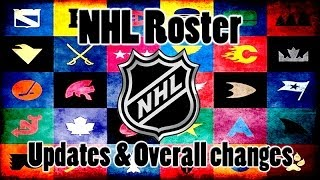 NHL 14- Winter Roster Update- NEW PLAYER OVERALLS!(, 2014-03-08T02:55:36.000Z)