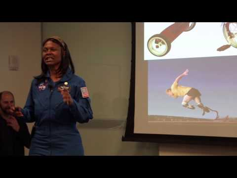 Design Night: Found in Space, talk by Dr. Yvonne Cagle