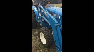 ls xg 3025 tractor w ls ll3110 loader blade for sale via online auction