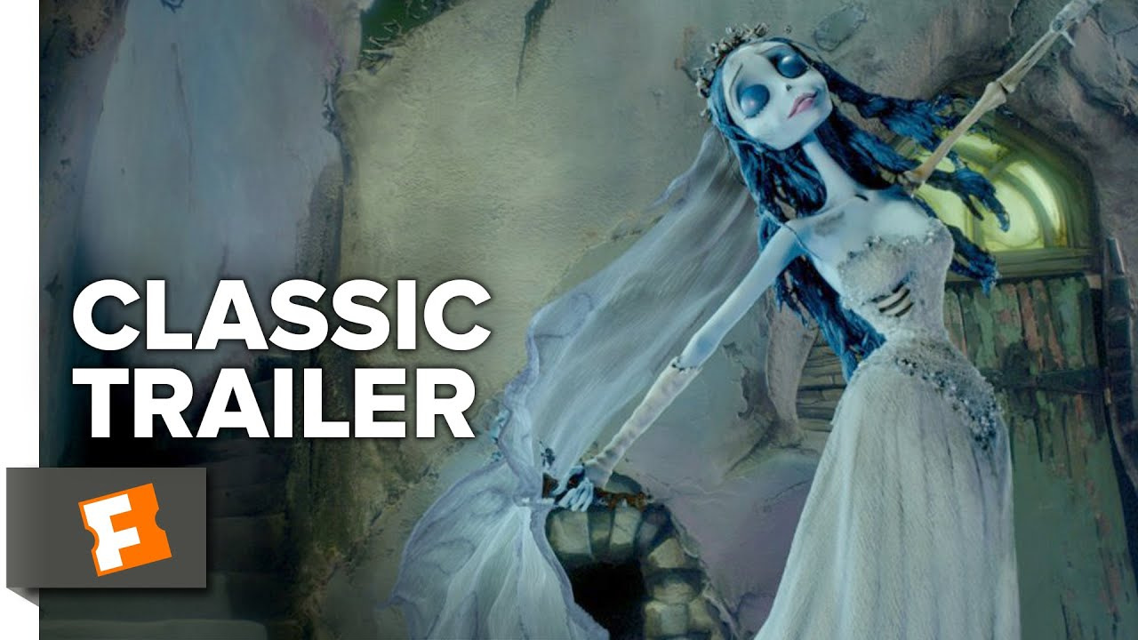 Corpse Bride (2005) Official Trailer - Tim Burton Animated Musical ...