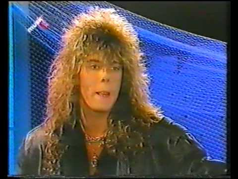 Joey Tempest - Interview,musicbox 1986 (rare stuff)