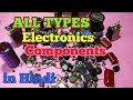 Basic Electronics Components in Hindi.