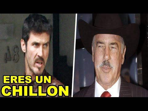 Leonardo Garcia LE DICE CHILLON a su papá Andrés Garcia