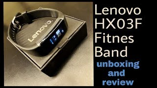 Lenovo HX03F FITNESS BAND full UNBOXING and REVIEW - GearBest