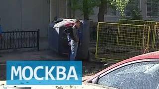 На северо-востоке Москвы прорвало водопровод, повреждены 12 автомобилей(, 2016-05-13T16:23:27.000Z)