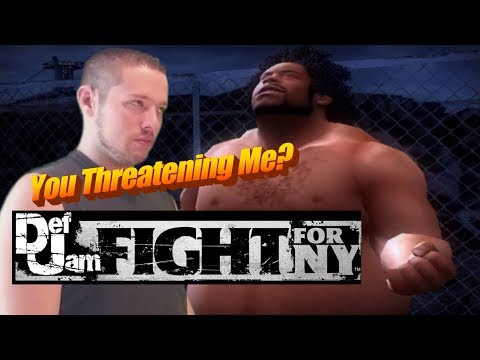 DEF JAM FIGHT FOR NEW YORK | THREATS AND COMEBACKS (GREEN SCREEN)