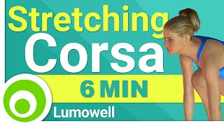 Stretching Pre e Post Corsa
